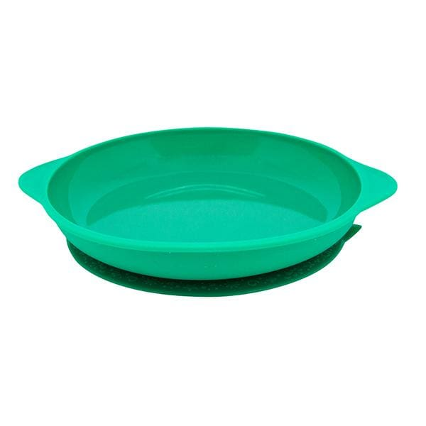 Marcus & Marcus Silicone Suction Plate Green Yum Yum Kids Store Silicone Plate