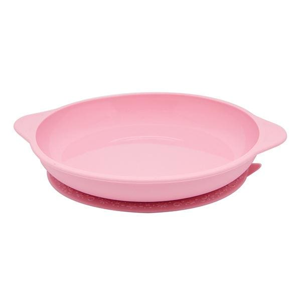 Marcus & Marcus Silicone Suction Plate Pink Yum Yum Kids Store Silicone Plate