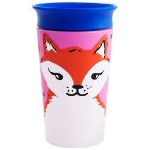 Munchkin Miracle 360 Trainer Cup 10oz Wildlife Fox Munchkin Cup