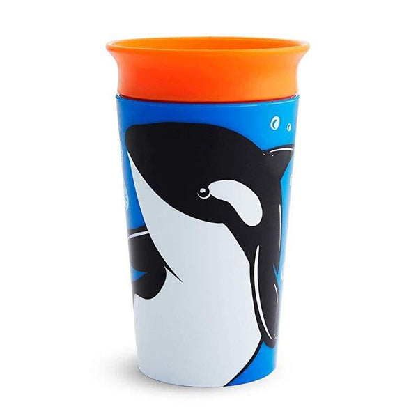 Munchkin Miracle 360 Trainer Cup 10oz Wildlife Orca Munchkin Cup