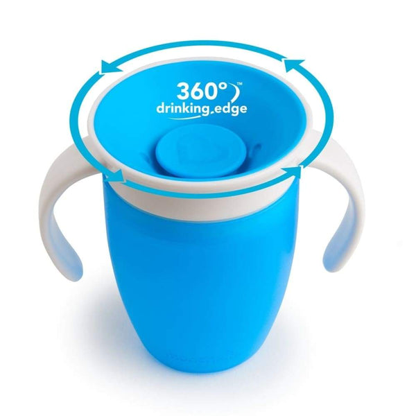 Munchkin Miracle 360 Trainer Cup 7oz Blue Munchkin Sippy Cup