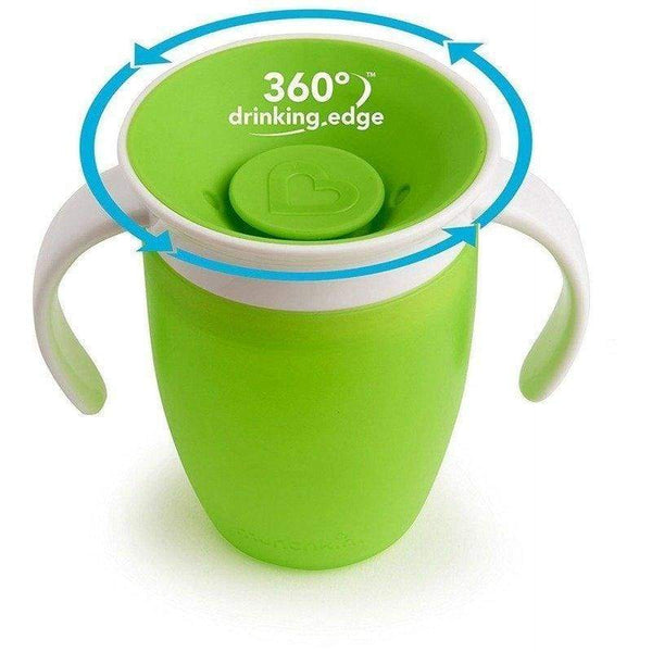 Munchkin Miracle 360 Trainer Cup 7oz Green Munchkin Sippy Cup