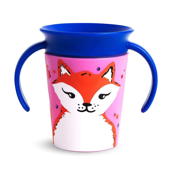 Munchkin Miracle 360 Trainer Cup 7oz Wildlife Fox Munchkin Sippy Cup