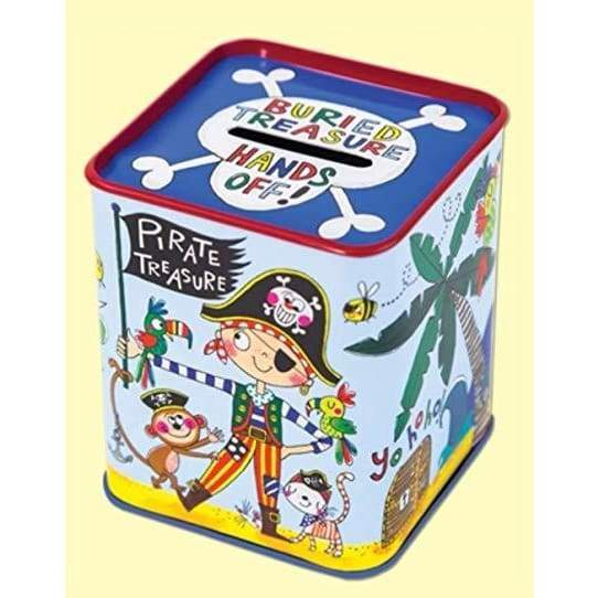 Rachel Ellen Money Box Tin Buried Treasure Default Rachel Ellen Money Box