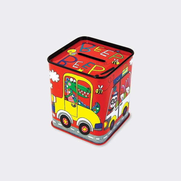 Rachel Ellen Money Box Tin Cars Rachel Ellen Money Box