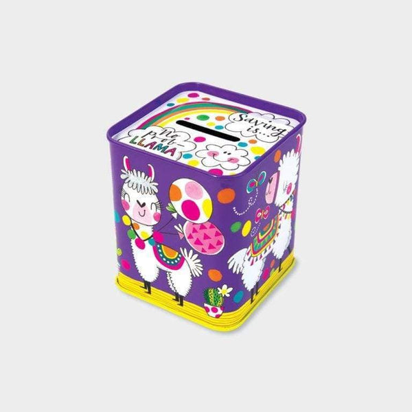 Rachel Ellen Money Box Tin No Prob Llama Default Rachel Ellen Money Box