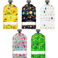 Simple Modern 5 Pack Reusable Pouches 150ml Mixed Designs Simple Modern Reusable Pouch