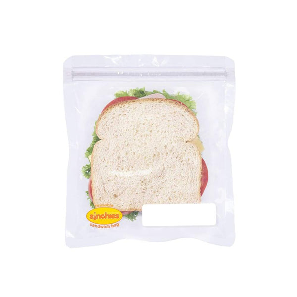 Sinchies Reusable Sandwich Bags 5 Pack Lighting Bolts Sinchies Reusable Sandwich Bag