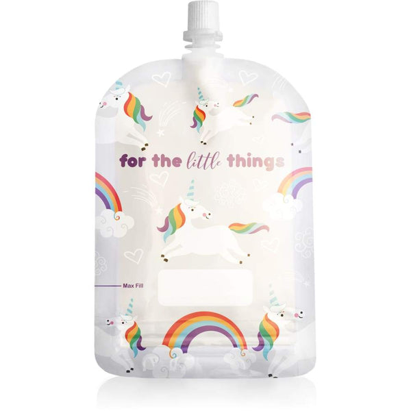 Sinchies Unicorn 150ml Top Spout Reusable Food Pouches 5 Pack Sinchies Reusable Pouch
