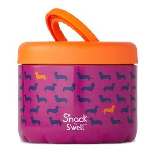 S'well S'Nack Insulated Food Container 710ml Top Dog S'well Insulated Food Flask