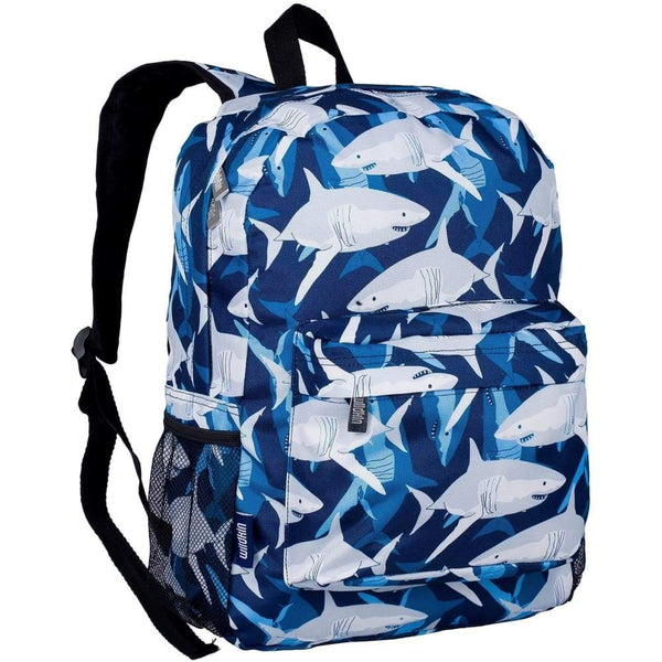 Wildkin Crackerjack Backpack - Sharks Wildkin Backpack