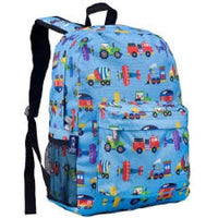 Wildkin Crackerjack Backpack - Trains Planes & Trucks Wildkin Backpack