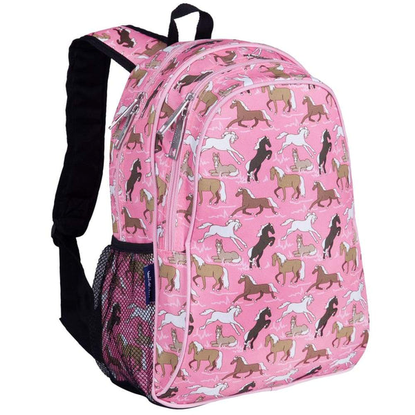 Wildkin Handypak Backpack - Horses In Pink Wildkin Backpack