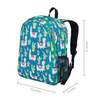Wildkin Handypak Backpack - Llamas and Cactus Wildkin Backpack