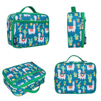 Wildkin Insulated Kids Lunchbox Llamas & Cactus Wildkin Insulated Lunchbox