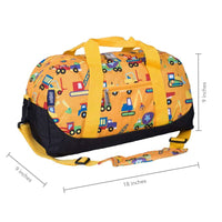 Wildkin Overnight Duffle Bag Construction Wildkin Duffle Bag