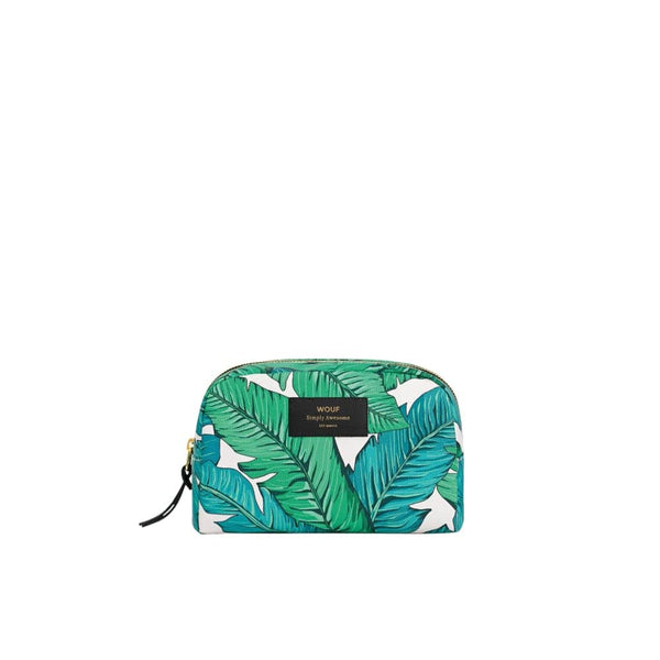 Wouf Big Beauty Tropical Wouf Makeup Bag