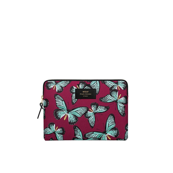 Wouf IPad / Tablet Sleeve Butterfly Wouf Laptop Sleeve