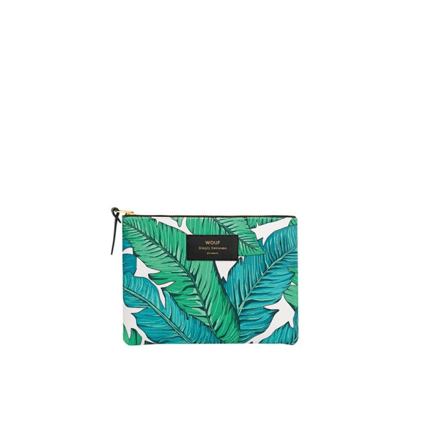 Wouf Large Pouch Tropical Wouf Makeup Bag