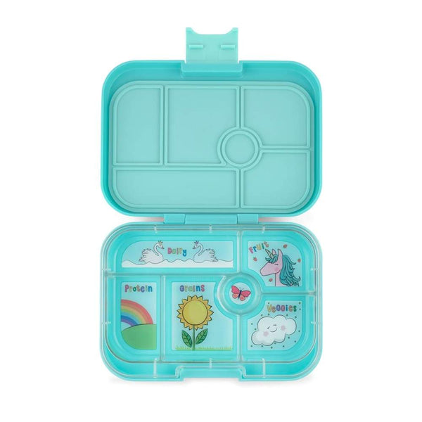 Yumbox Original Misty Aqua Lunchbox - 6 Compartments Yumbox lunchbox