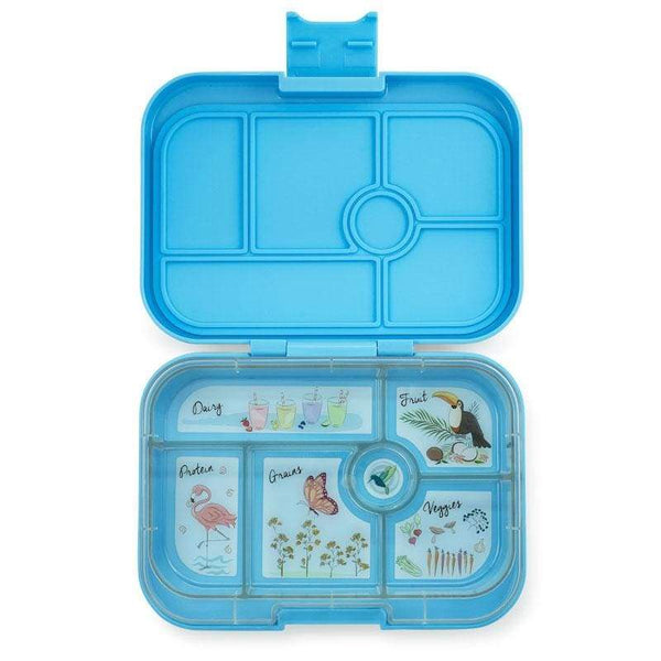 Yumbox Original Nevis Blue Lunchbox - 6 Compartments Yumbox lunchbox