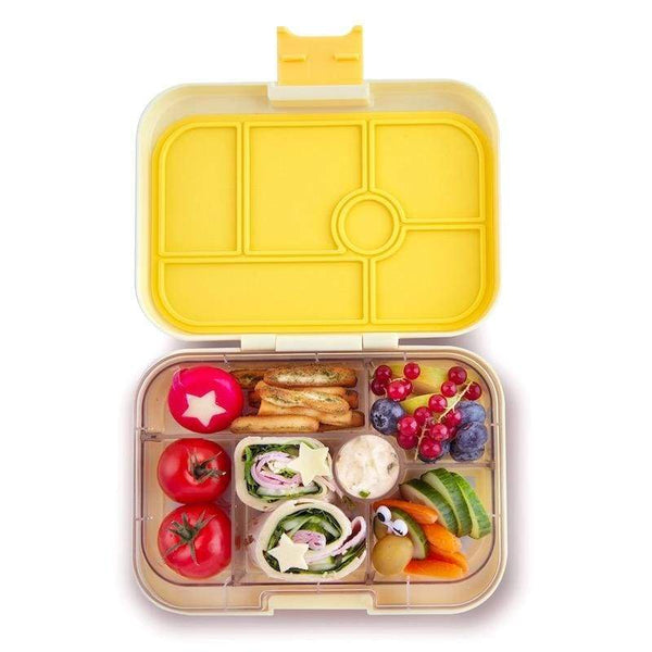 Yumbox Original Sunburst Yellow Lunchbox - 6 Compartments Yumbox lunchbox