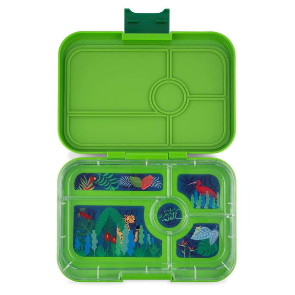 Yumbox Tapas Go Green - 5 compartments Yumbox lunchbox