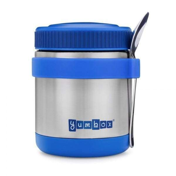 Yumbox Zuppa Triple Insulated Stainless Steel Thermal Food Jar Neptune Blue Default Yumbox Insulated Food Flask
