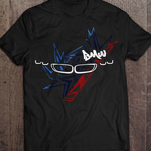 BMW Style Graphic T-Shirt