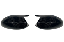 M3 Style Carbon Fiber Mirror Cap Replacement Covers BMW E92 328i 335i 2007-2013.