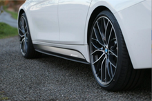BMW F30 Performance Style Side Skirt Splitter Extensions M Sport Only - JGMODS