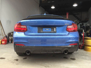 Performance Style Carbon Fiber Rear Diffuser BMW F22 228i M235i