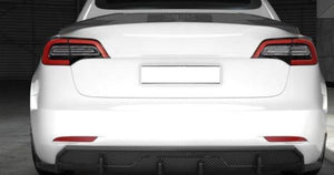 Model 3 Carbon Fiber Rear Trunk Spoiler