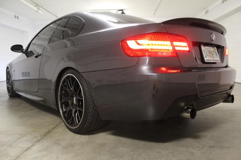 BMW E92/E93 M Tech Style Replica Rear Bumper | 328i, 335i, 335is.