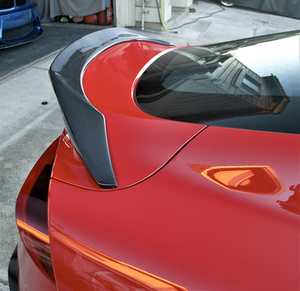 TRD Style Carbon Fiber Trunk Spoiler for A90 GR Supra 2019+.