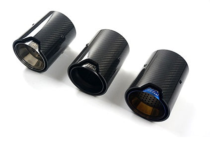 Carbon Fiber Exhaust Tips F80 M2 F82 M4 F87 M2