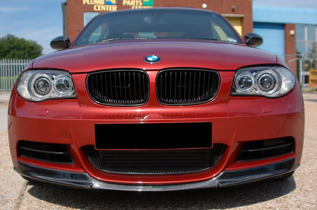 E82 M Tech Carbon Fiber Front Lip - BMW 128i 135i