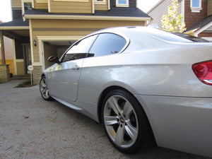BMW E92/E93 M3 Style Side Skirts 328i 335i 335is.