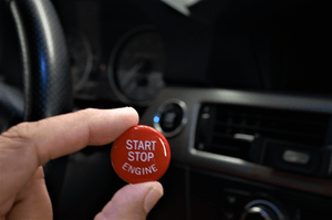 BMW E9X Red Engine Start Button Replacement Cover