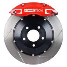 StopTech Front Big Brake Kit Red Calipers Slotted Rotors - 09-13 BMW E9X M3 - JGMODS