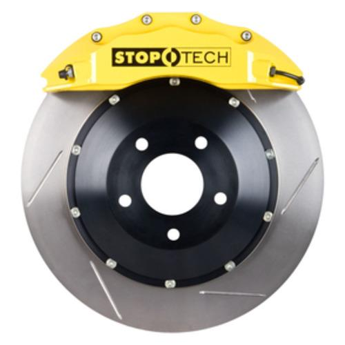Stoptech Big Brake Kit Front Yellow ST-60 Calipers Slotted 380x35mm - E9X M3 & E8X 1M - JGMODS