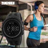New Bluetooth smart watch for Apple IOS Android. Sports Waterproof 50M + Pedometer. SKMEI_W005