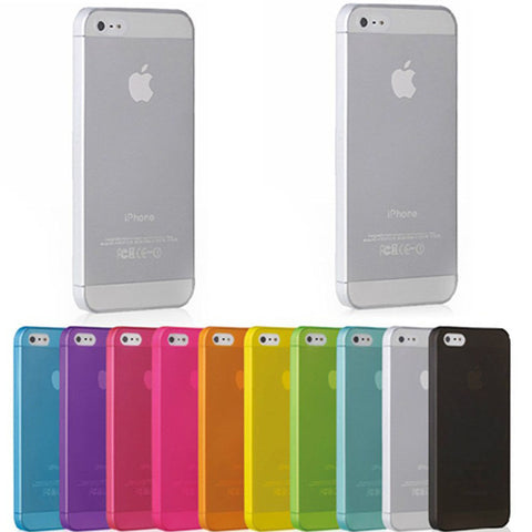 Ultrathin hard case, matte color for iPhone 5 5s se 5c 6 6s 6 plus 7 7 more. JOYK_A002