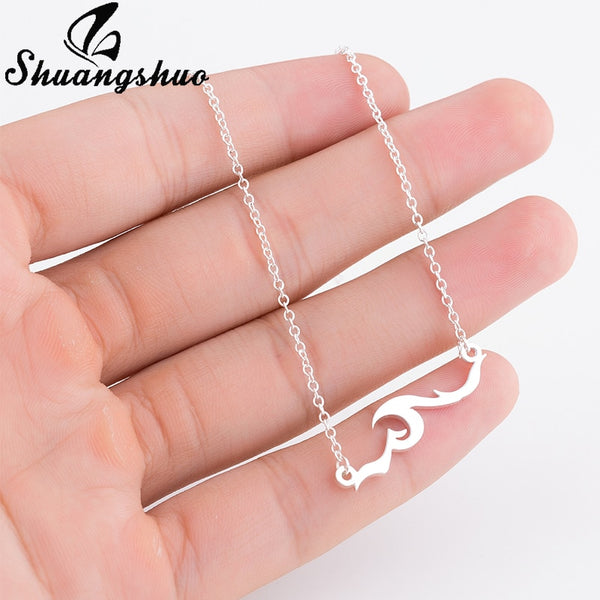 Ocean Wave Necklaces & Pendants Sea Wave Necklace