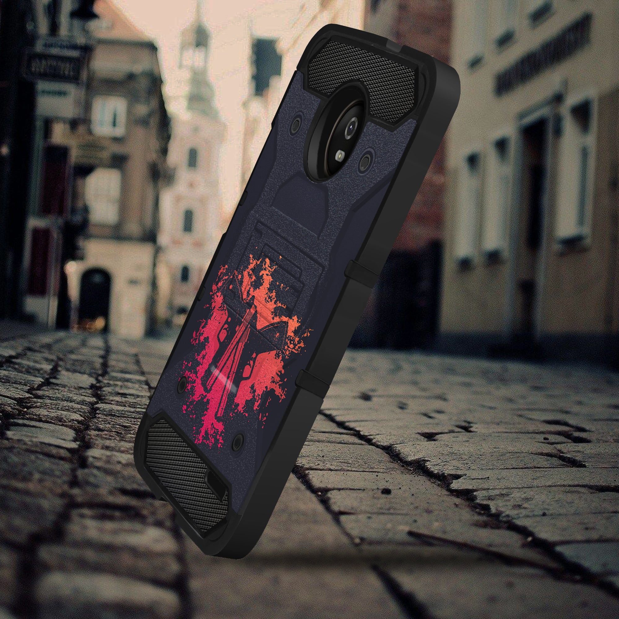 Details about For Motorola Moto E4 Plus, Tough Rugged Shock Combat Shell  Stand case