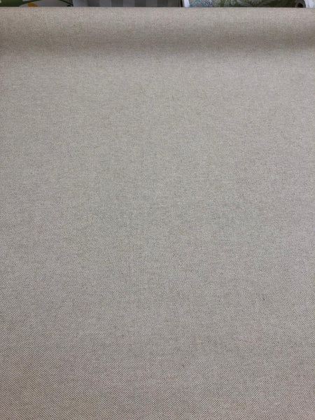 Cotton Linen Beige Heavy Canvas Upholstery Fabric By The Yard