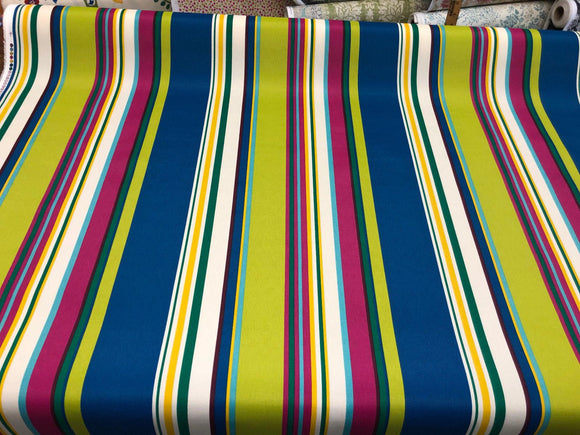 Richloom Thailand Stripe Polyester Outdoor Fabric by the yard