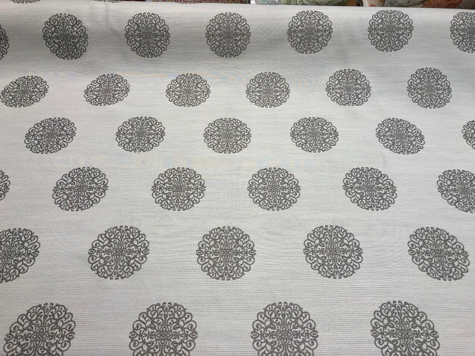 Moda Celtic Knot Silver Crown Jacquard Fabric By The Yard