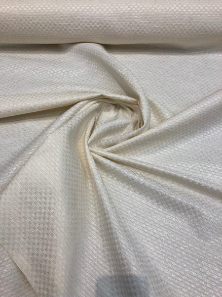 Mandalay Buff Woven Linen Look Drapery Upholstery fabric by the yard