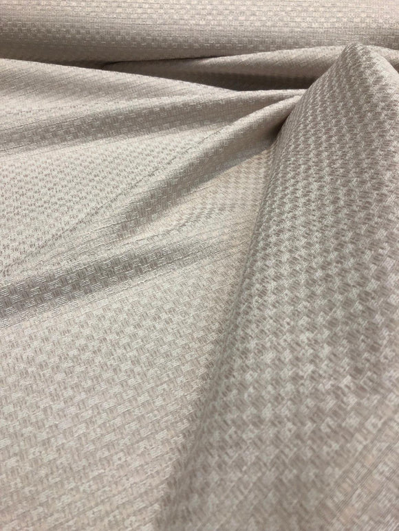 Mandalay Alabaster Woven Linen Look Drapery Upholstery fabric by the yard